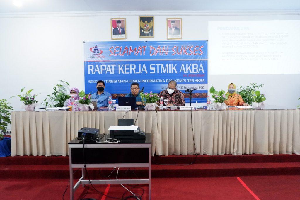 Rapat Kerja STMIK AKBA 2021